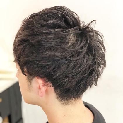イチオシ‼️メンズ限定⭐️直毛、剛毛なんでも来い!無造作、束感カットパーマ+ダメージレストリートメント