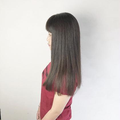 🌟髪質改善🌟サラサラ縮毛矯正+カット💗クセが気になる方にオススメ!