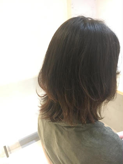 【OPEN 特典✨】カット+艶カラー+オリジナル3Dカラー+OGトリートメント¥12100