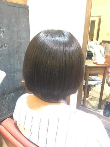 高校生のモデル様 縮毛矯正ツヤサラです✨ florent所属・井筒幸大のスタイル
