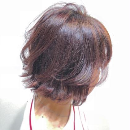 ✨女性必見✨No.2⭐️前髪カット&イルミナカラー
