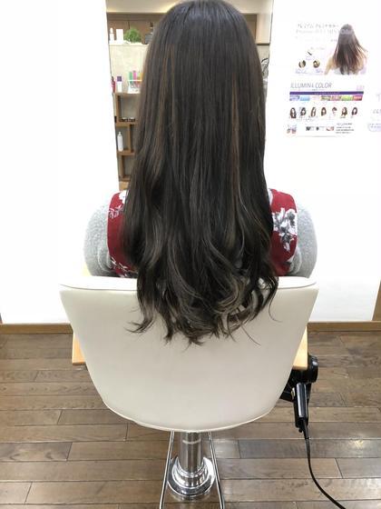 ハイライト&暗めのアッシュ フェアレディ 仙川店所属・新海聖裕のスタイル