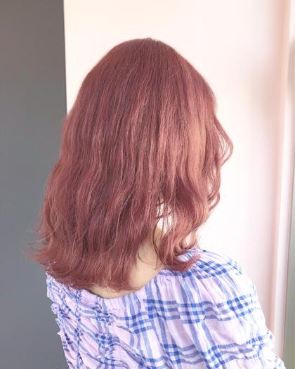 【🦄ダブルカラー🦄】ブリーチ + カラー 🧴🛁💖