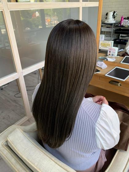 ❗️イチオシ❗️  カット+イルミナカラー+(髪質改善)サブリミック酸熱トリートメント