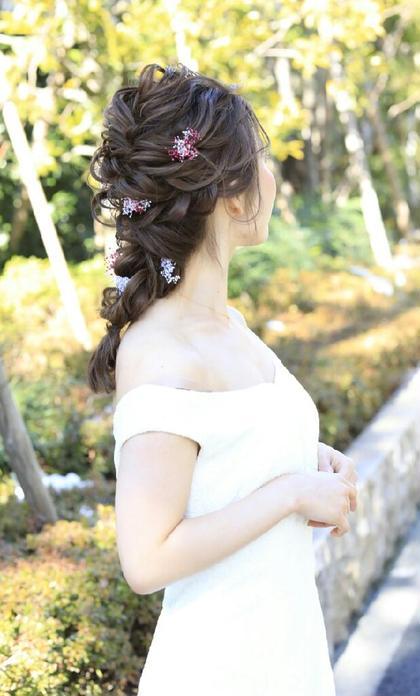 大人気‼編みおろしスタイル♪ 阿波根奈々子のヘアアレンジ