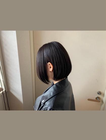 ❤【クセの強い方におすすめ】オリジナル縮毛矯正+カット/10500→/7900
