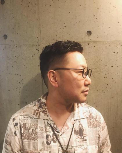 men's カット✂︎+シャンプー+スタイリング ¥4400→¥3450