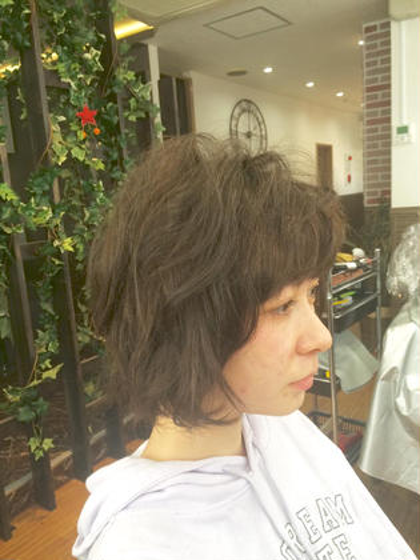 マットグレージュ Agu  hair salon RIDE所属・新居(あらい)佑大(ゆうた)のスタイル