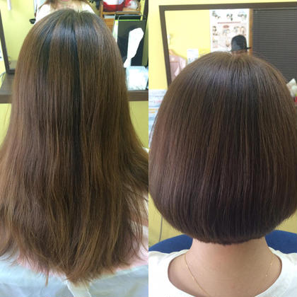【人気NO.1】似合わせカット&髪質改善・復元ケアエステカラー&エレクトロンドライヤー