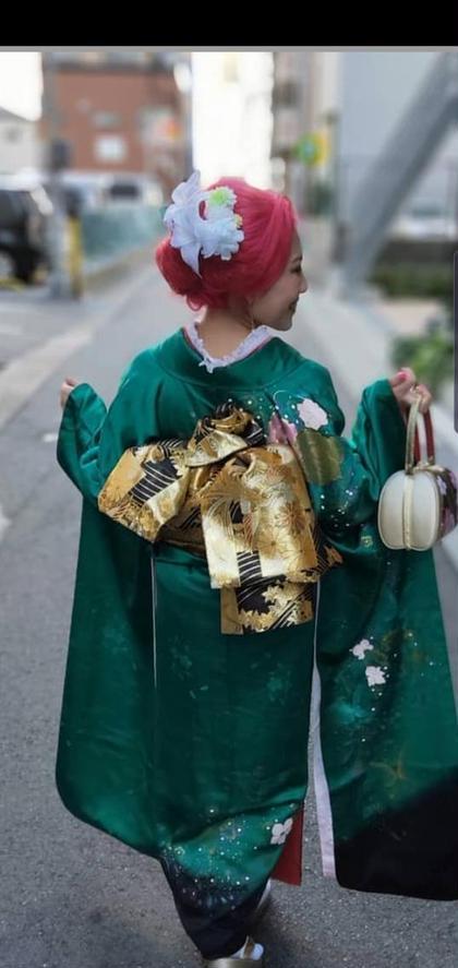 【成人式♡卒業式♡結婚式に♪】着付け&ヘアセット&メイク セット