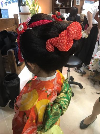 日本髪 Liss所属・中谷加奈のスタイル
