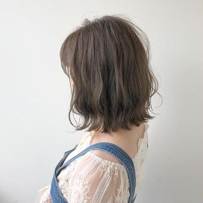 ❗️毛髪診断士 推薦❗️カット+低ダメージケアカラー+3ステッププラチナトリートメント  ¥17930→¥11880