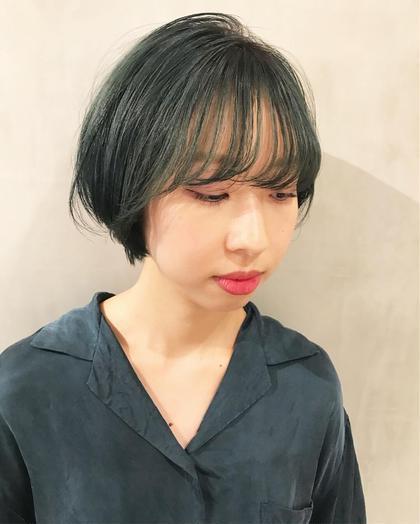 ✂︎ 【初回】カット+ダブルカラー(ケアブリーチ込み) +トリートメント