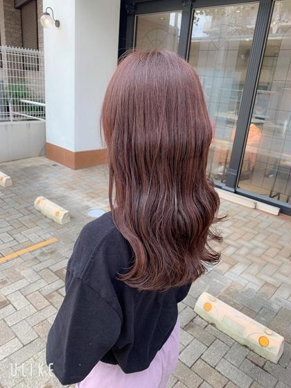【7step最高級・潤い・ツヤ・コラーゲン】ミストカラー+プレミアム髪質改善トリートメント💛