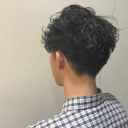 【✂️men's限定✂️】メンズカット+パーマ+マッサージシャンプー