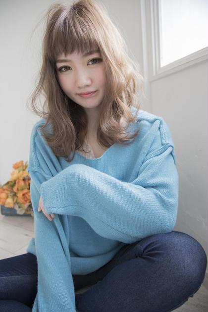 『外国人風カラー』ダブルカラーB  ¥9000+税