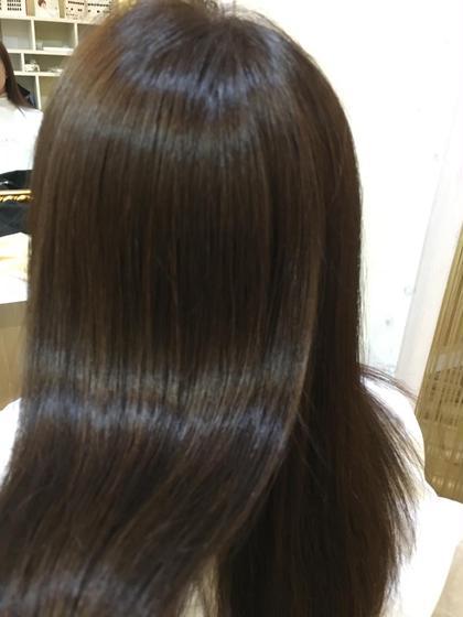 oggiotto colorで カラーによるダメージを最小限に抑え もとの髪の毛より綺麗にさせて頂きました!!   SWEET ROOM所属・大橋聖哉のスタイル