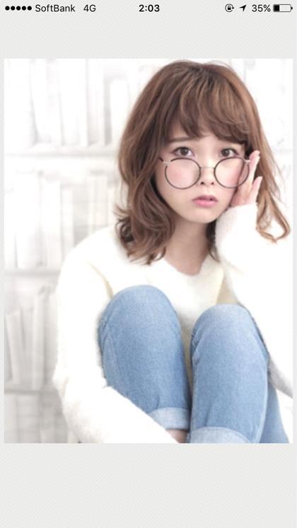 シフォンベージュ×ゆるふわミディアム HAIR DERA'S所属・飯田啓奨のスタイル