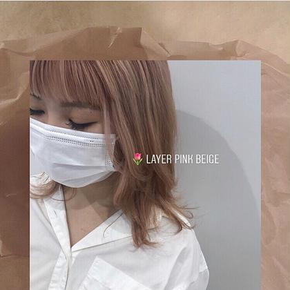 【人気No3】トレンドカラー+酸熱トリートメント(ハンドエステ付)