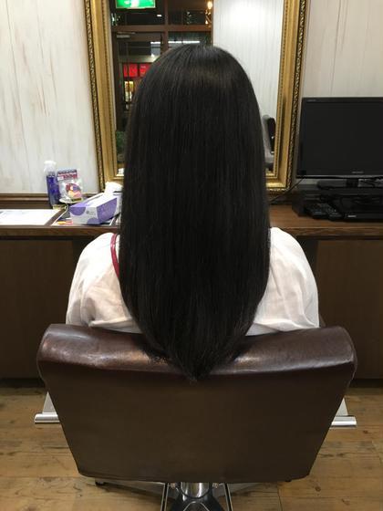 セミロングスタイル 美容室 AER所属・松木俊介のスタイル