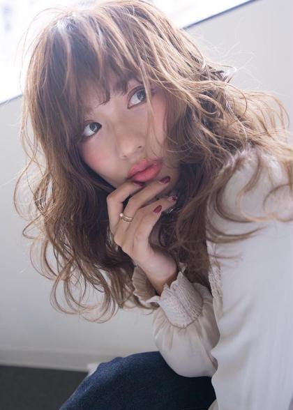 大人気カラー☆艶感と透明感のイルミナカラー➕ブローor巻き髪☆ロング料金無料【3回目のご来店まで】