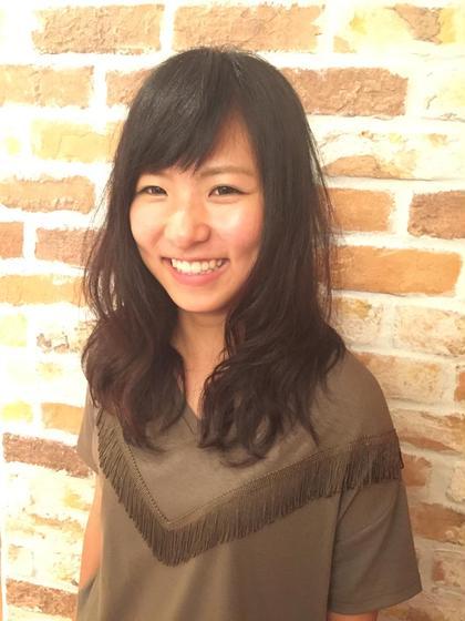 デジタルパーマ。  可愛くゆるふわに(*^o^*) loops hair所属・永柳里沙のスタイル