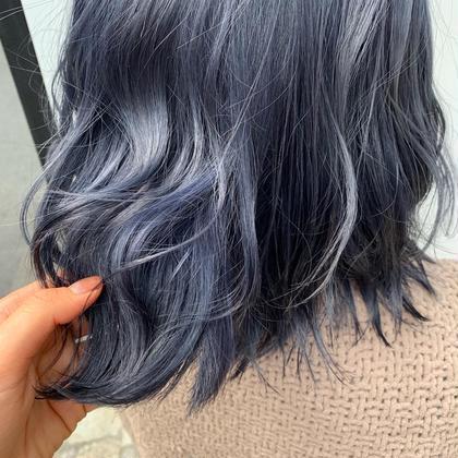 👖👖色落ち最強👖👖 ブルー系デニムカラー+トリートメント (+¥3240でブリーチ可)