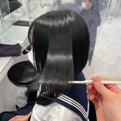 🍀モデルさんの様なボブを作るならこのクーポン🍀 🍀ボブカット+髪質改善トリートメント🍀インスタで人気