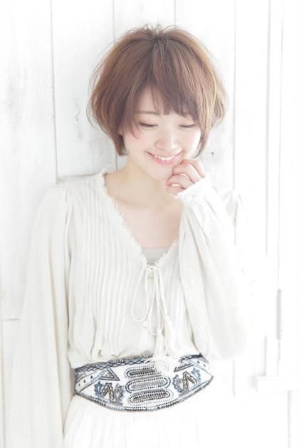 愛されショートボブ♡ Hair Salon Sorcier所属・笠木映李のスタイル