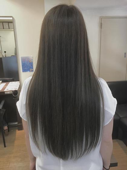 hair circle geep  千舟町店所属・三谷茜のスタイル