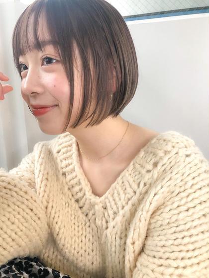 【ダメージレスカラー✨】カット+イルミナorN.カラー+2stepハホニコTR【¥15900⇒¥9000】