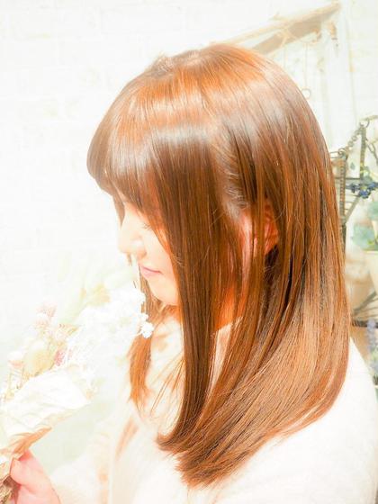 おすすめ♪【超髪質改善】TOKIOプレミアインカラミトリートメント +    似合わせ カット