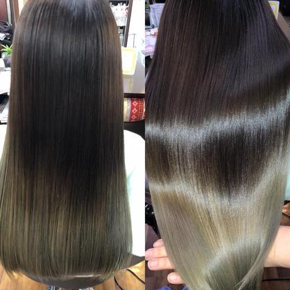 ツヤ髪!髪質改善プレミアムカラーエステPr、カット 15120→10980