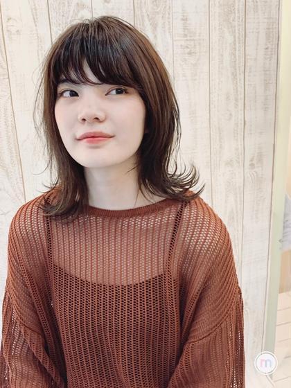 【✨ツヤのある髪に✨】潤いカラー+カット