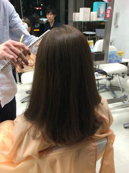 赤み系の髪の毛をマット系アッシュへ♡ ヘアメイクウィル 西宮店所属・スタイリスト相原愛梨のスタイル