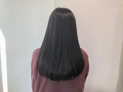 カラー ロング 暗髪ロング