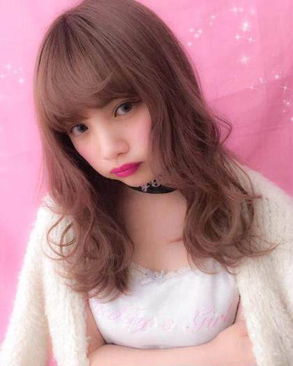 ⭐︎【ロング・ミディアム限定】ガーリー系カット+ブリーチ×1+カラー