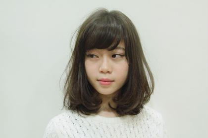 ミント系グレージュカラー M.SLASH自由ヶ丘所属・鈴木元太郎のスタイル