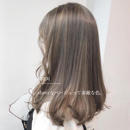 ❤️新しい自分に❤️ブリーチはしたくない‼️そんな夢を叶えます💗ダブルカラー❤️今流行りのケアカラー 💫前髪込み