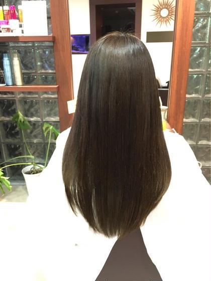 🌷サラツヤの髪へ🌷ALBAカット×サラツヤ縮毛矯正