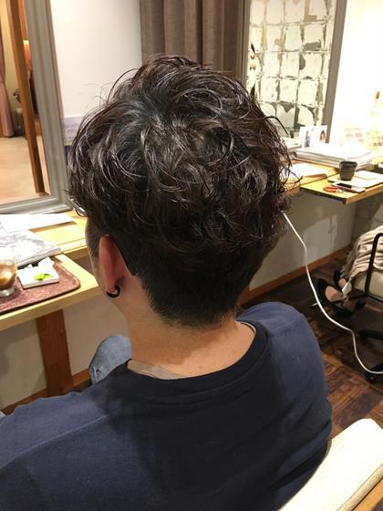 刈り上げスタイル!! 鴨田勇太のメンズヘアスタイル・髪型