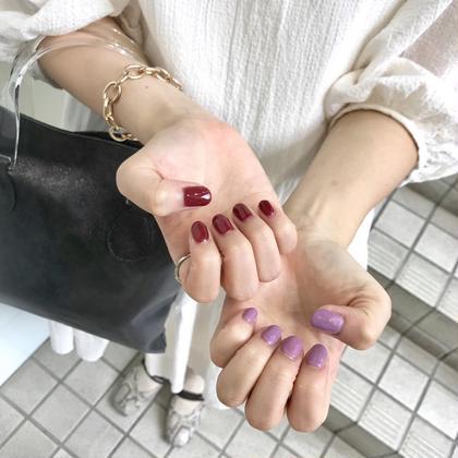 ♡爪に優しいパラジェルネイル(ワンカラー)♡
