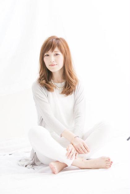 ゆるーくゆるーくAライン☆ ラフさが大事☆ Agu   hair rabbit所属・福西智哉のスタイル