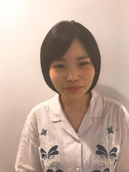 カラー 黒髪ツヤ☆