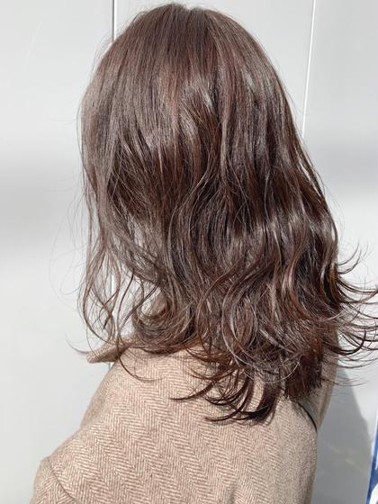🌈❤️💜カット➕ダメージレスナチュラルカラー➕髪質改善トリートメント❤️💜🌈
