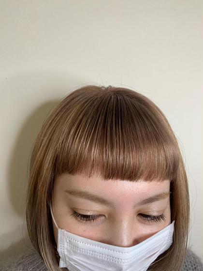 🆕⭐️OLAPLEX ケアカラー 処理剤としてプラス→傷んだ髪を修復し、ケアしながらカラーできます
