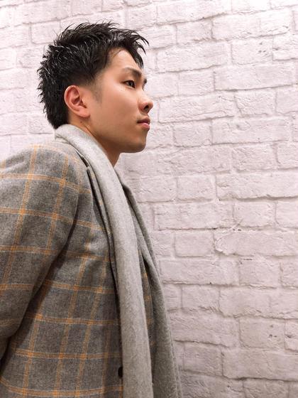 グレイスフルバーバー赤坂見附店所属の山田拓馬のヘアカタログ