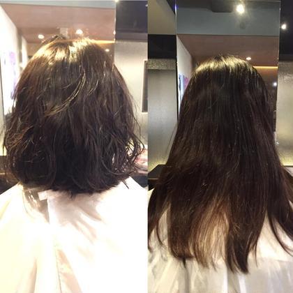 ばっさり切らせて頂いてゆるふわにパーマあてさせていただきました(*^^*) hair&make trois所属・中村直のスタイル
