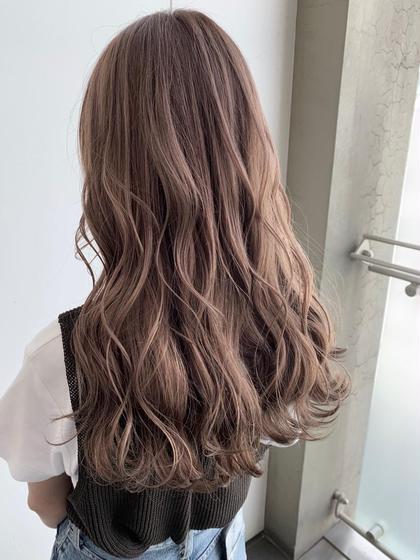 髪を綺麗に伸ばしたい方必見❣️メンテナンスカット&ノンダメージカラー&最高級ダメージ補修5stepトリートメント❣️