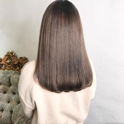 ♡♡ブリーチなしのダブルカラー♡♡透明感ある髪色にしたいけど、痛ませたくない方におすすめです